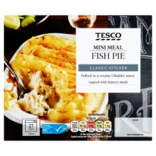 Tesco Mini Meals Fish Pie 250G