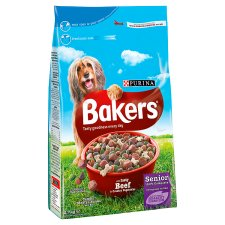 Bakers Complete Senior Beef Rice And Veg2.7Kg