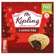 Mr Kipling Free From Mince Pies X4