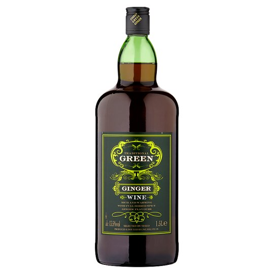 Tesco Green Ginger Wine 1.5 Litre