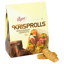 Pagen Wholegrain Krisprolls 225G