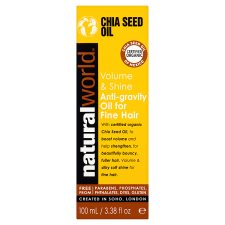 Natural World Chia Seed Hair Treatment Oil 100Ml