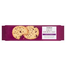 Tesco Fruit Shortcake Biscuits 200G