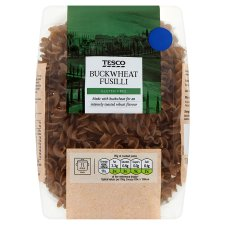 Tesco Buckwheat Fusilli 250G