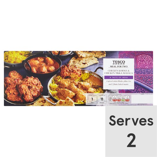 Tesco Korma Meal For 2 1.45Kg