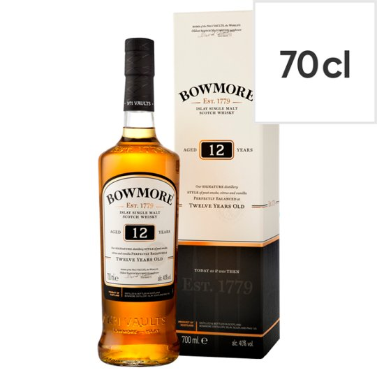 Bowmore 12 Year Old Whisky 70Cl