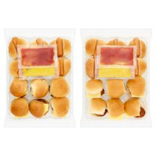 image 2 of Tesco Easy Entertaining 24 Mini Hotdogs And Cheese Burger 630G