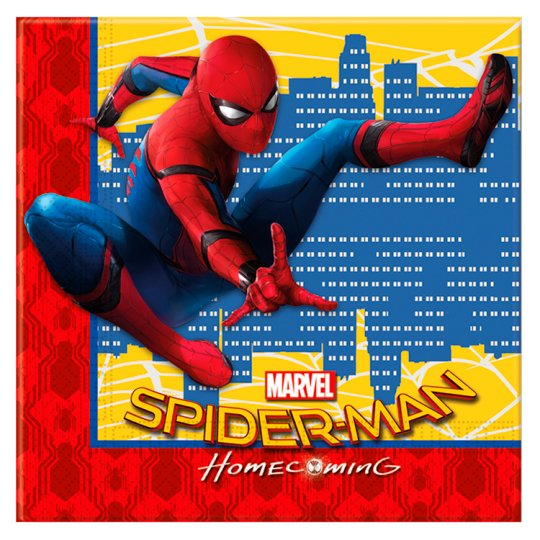 Spiderman Napkin 20 Pack