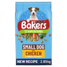 image 1 of Bakers Small Dog Food Chicken And Vegetable 2.85Kg