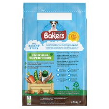 image 2 of Bakers Small Dog Food Chicken And Vegetable 2.85Kg
