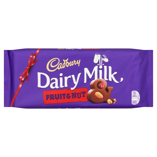 Cadbury Dairy Milk Fruit And Nut Chocolate Bar 360G