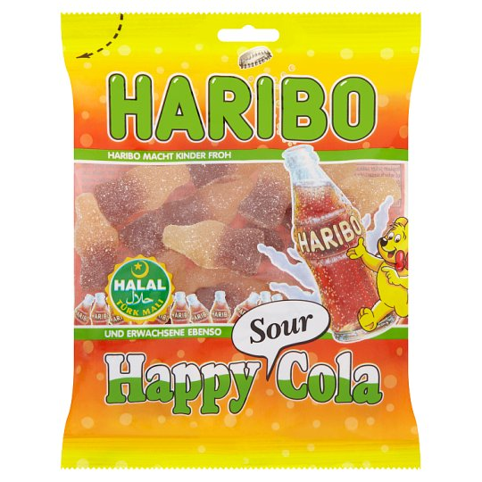 Haribo Halal Happy Cola Sour 100G