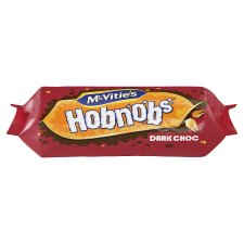 Mcvities Hobnob Dark Chocolate Biscuits 262G
