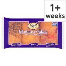 Regal Madeira Cakes Triple Value Pack 3 Pieces