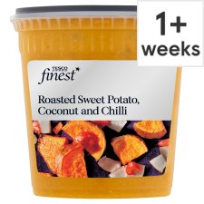 Tesco Finest Sweet Potato Coconut And Chilli Soup 600G