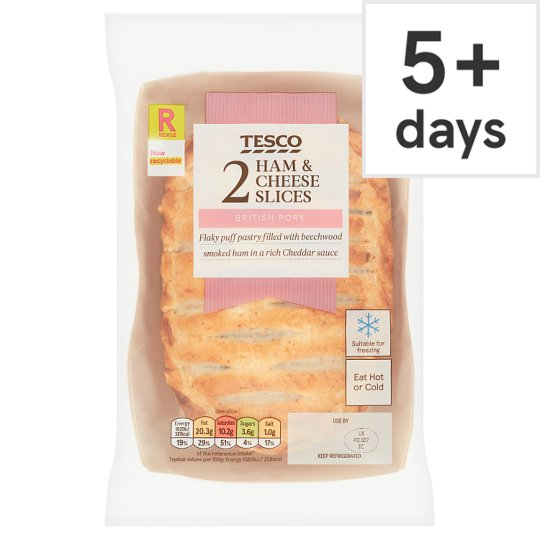 Tesco 2 Ham And Cheese Slices 300G