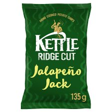 Kettle Ridge Cut Jalapeno Jack 135G