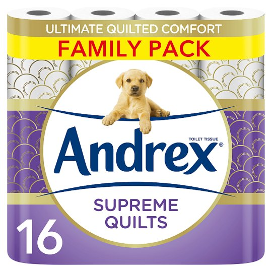 Andrex Supreme Quilts 16 Roll