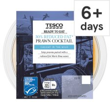 Tesco 30% Reduced Fat Prawn Cocktail 170G