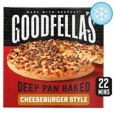Goodfella's Deep Pan Cheesy Beef Pizza 439G