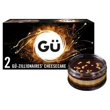 image 1 of Gu-Zillionaire Cheesecakes 2 X83.5G