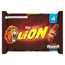 image 1 of Lion Bar Milk Chocolate Multipack 4 X42g