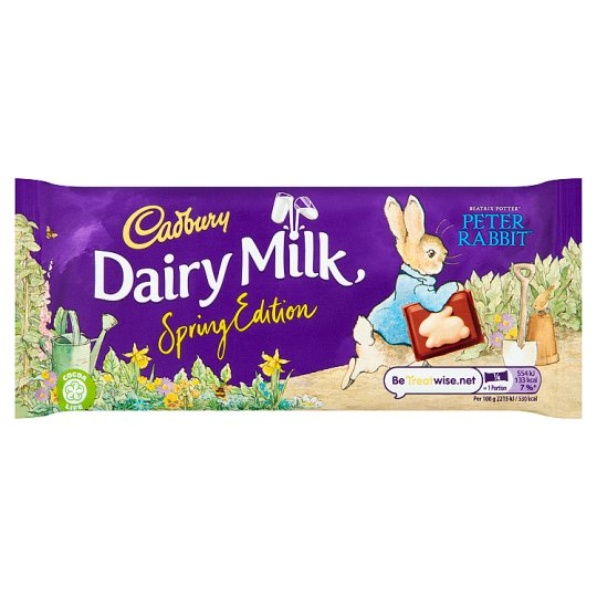 Cadbury Dairy Milk Chocolate Easter Hoppy Bunny Bar 100G