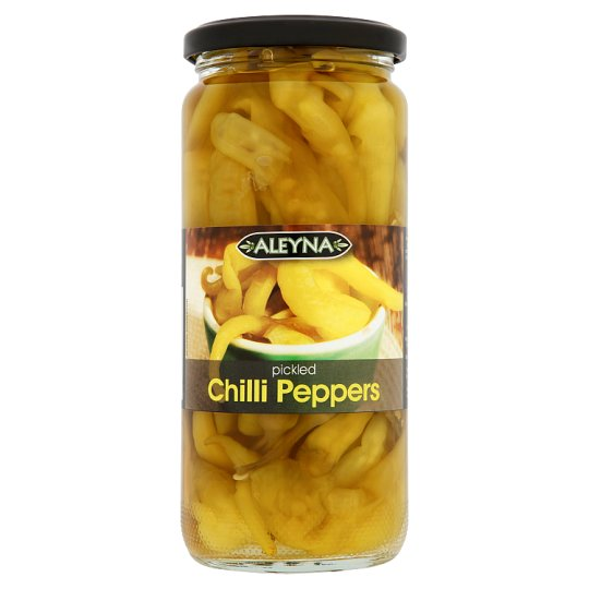 Aleyna Pickled Chilli Peppers 440G - Groceries - Tesco Groceries