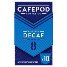 Cafepod Decaffeinated 10 Pack 55G
