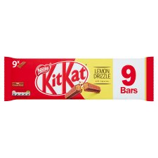 Kit Kat 2 Finger Lemon Drizzle Chocolate Biscuits 9X20.7G