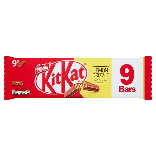 image 1 of Kit Kat 2 Finger Lemon Drizzle Chocolate Biscuits 9X20.7G