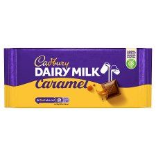 Cadbury Dairy Milk Caramel Chocolate Bar 200G