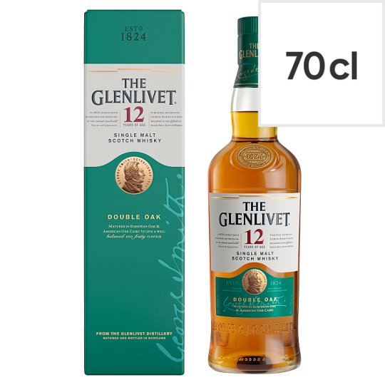The Glenlivet 12 Year Old Malt Whisky 70Cl