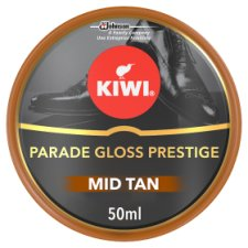 Kiwi Mid Tan Parade Gloss Shoe Polish 50Ml