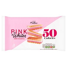 Caxton Pink And White Wafers 6 Pack 85G