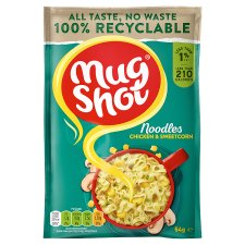 Mugshot Chicken And Sweetcorn Noodles 54G