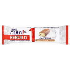 Tesco Nutri1st Protein Bar Cookies& Cream 60G