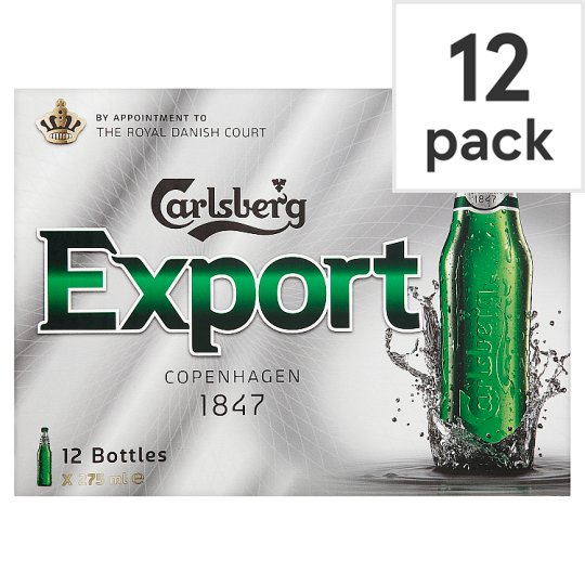 Carlsberg Export 12X275ml Bottles