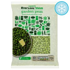 Tesco Everyday Value Garden Peas 900G