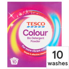 Tesco Colour Laundry Powder 10 Wash 650G