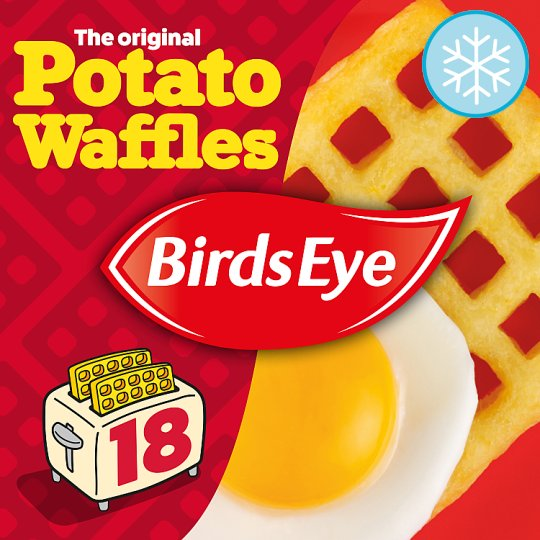 Birds Eye 18 Potato Waffles 1.02Kg