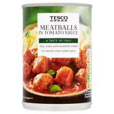 Tesco Meatballs In Tomato Sauce 395G