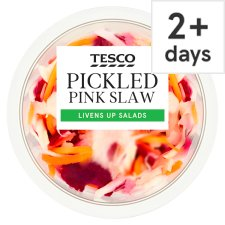 image 1 of Tesco Pink Slaw 140G