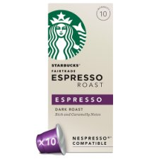Starbucks Espresso Coffee Pod X 10