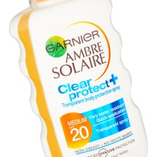 Ambre Solaire Clear Protect Spray F20 200Ml