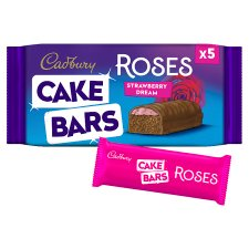 Cadbury Roses Strawberry Cake Bar 5 Pack