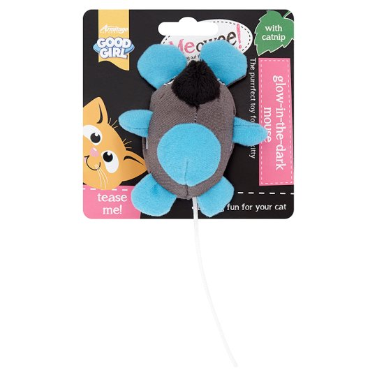Meowee Glow In The Dark Mouse Cat Toy