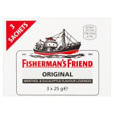 Fishermans Friend Strong Original 3X25g Pack