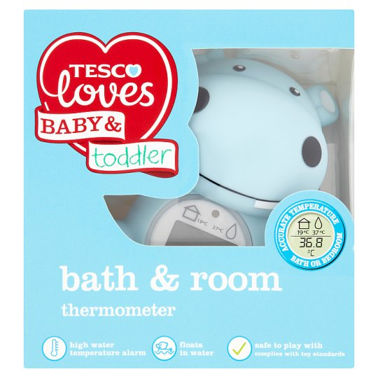 Tesco Loves Baby And Toddler Bath And Room Thermometer