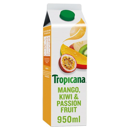 Tropicana Mango Kiwi And Passion Fruit Juice 950Ml
